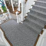 Stanton Carpet & Rugs carpeted stairs