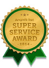 Angies List Service Award 2014