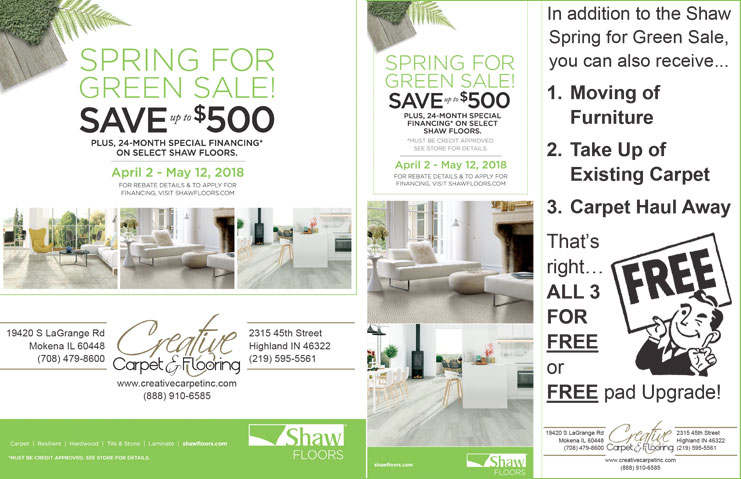 Blogshawflooringsaleapril Creative Carpet Creative Carpet - Shaw flooring financing
