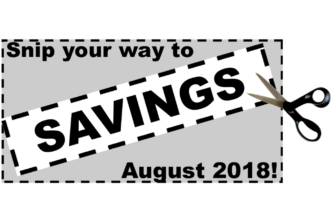 Thumbnail - Snip your way to savings August 2018