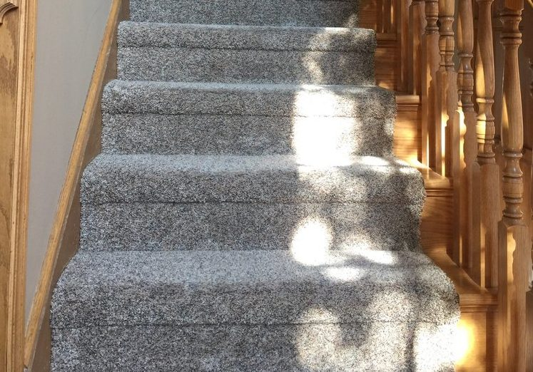Creative Carpet & Flooring carpet on stairs project photo