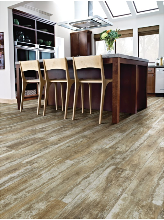 Shaw's Tile in Heritage French Oak - yes it's tile!