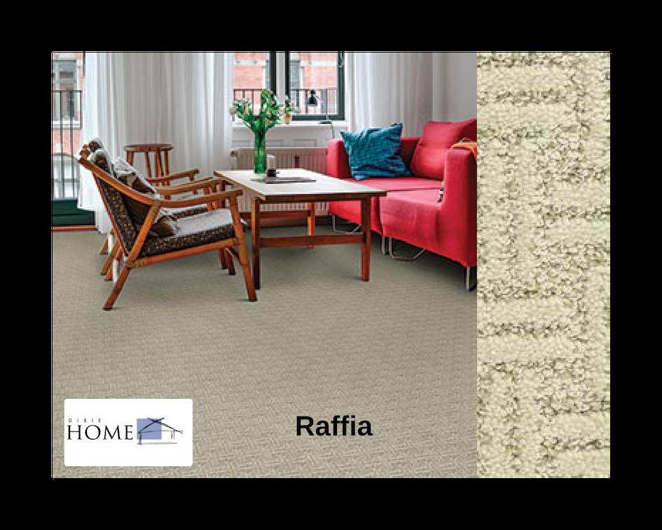 Dixie Home Raffia carpet