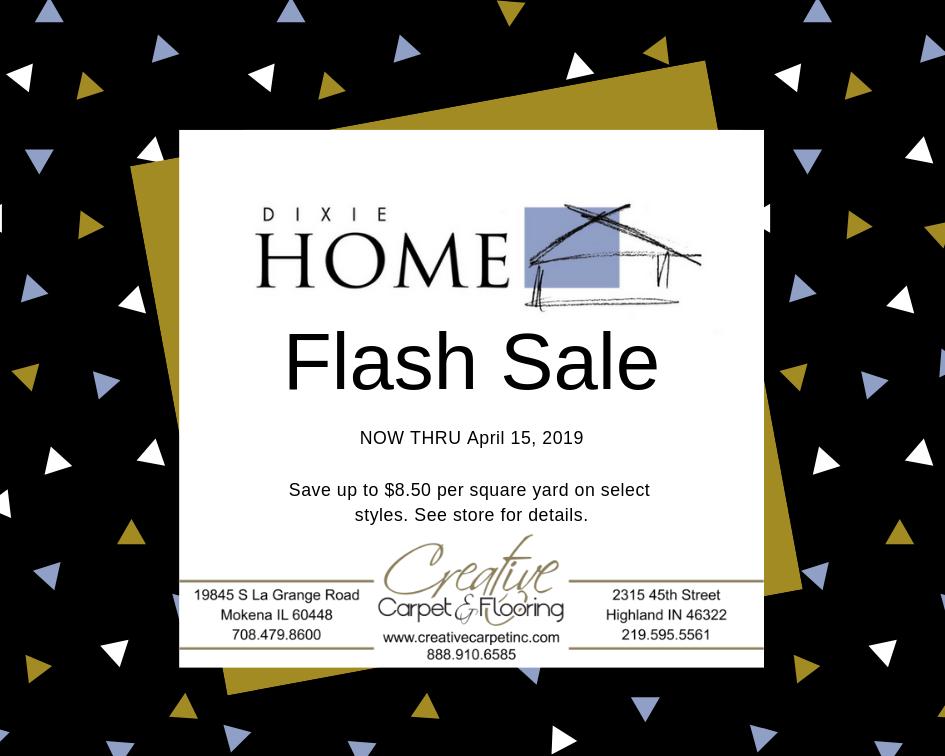 Thumbnail - Dixie Home Flash Sale