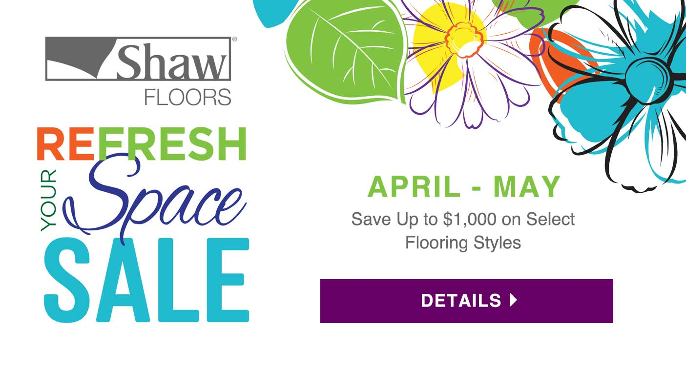 Shaw Refresh Your Space Sale 2019 Creative Carpet & Flooring