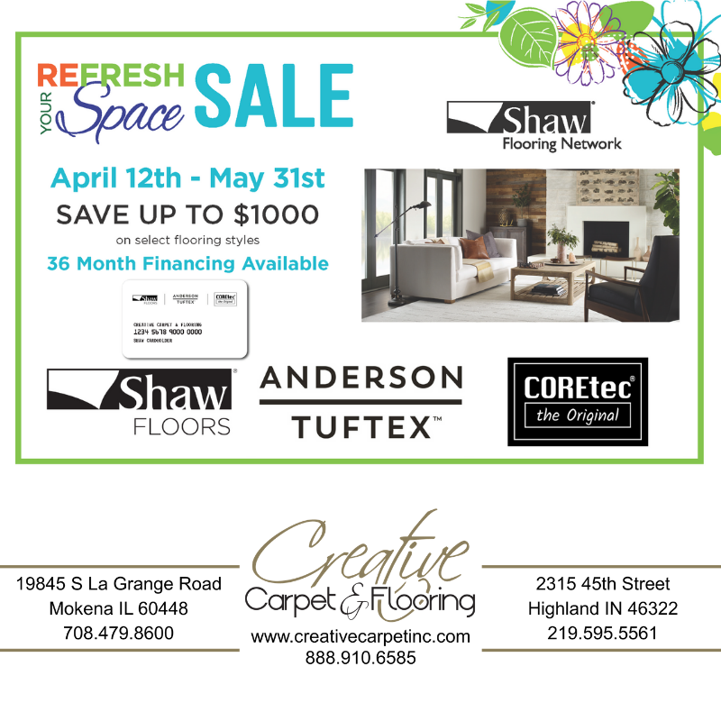 Shaw Floors Refresh Your Space Sale Going On Now Creative Carpet