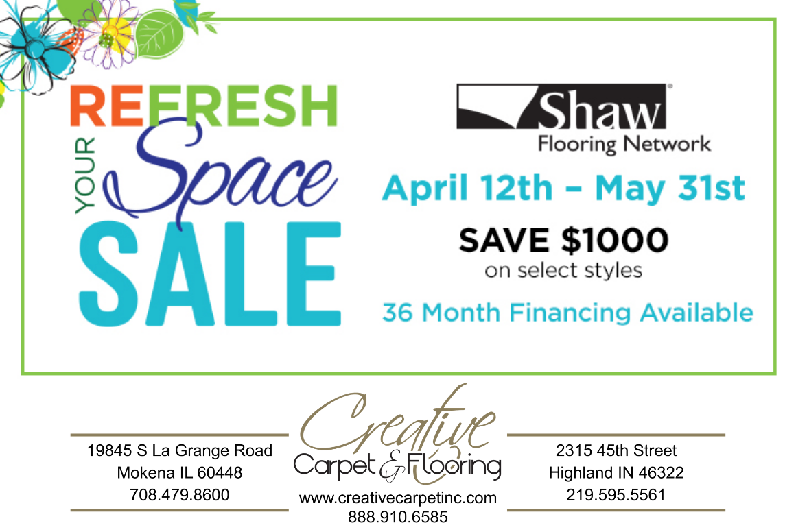 Thumbnail - Shaw Refresh Your Space Spring Sale going on NOW
