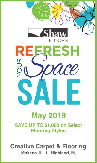 Special Financing Shaw Floors Refresh Your Space Spring Sale