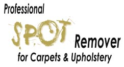 Professional spot remover for carpets and upholstery