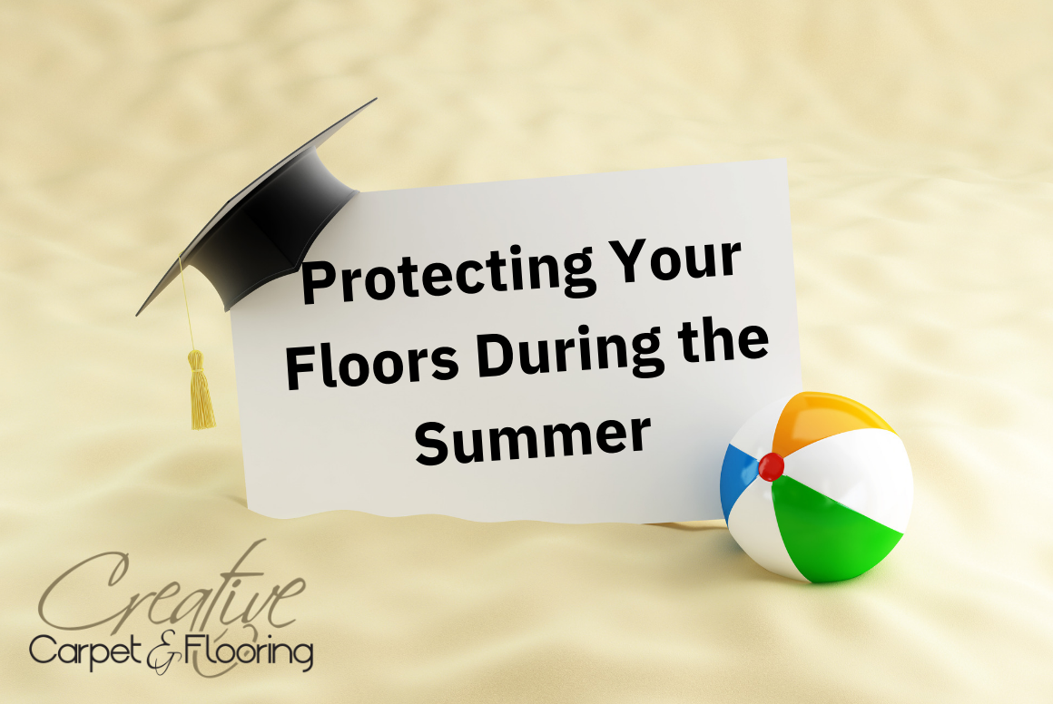 Thumbnail - protecting floors during summer