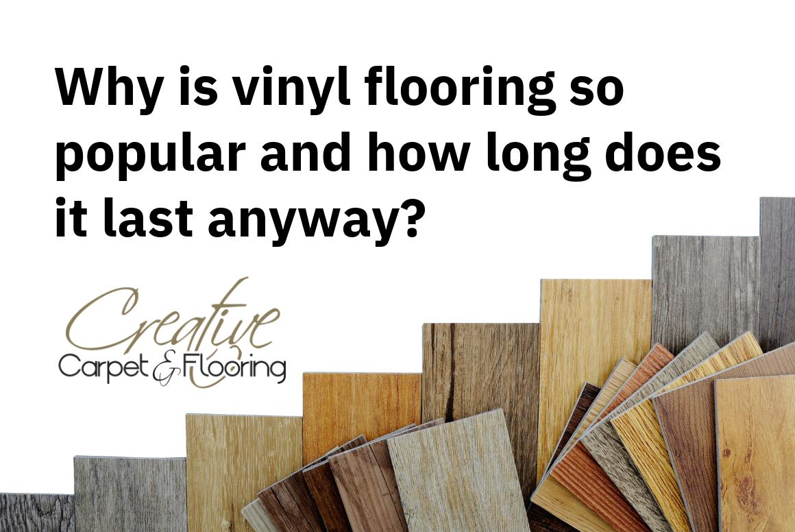 vinyl flooring popular last long