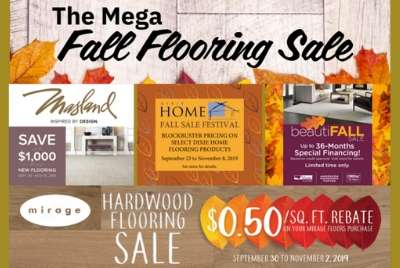 Thumbnail - The Mega Fall Flooring Sale
