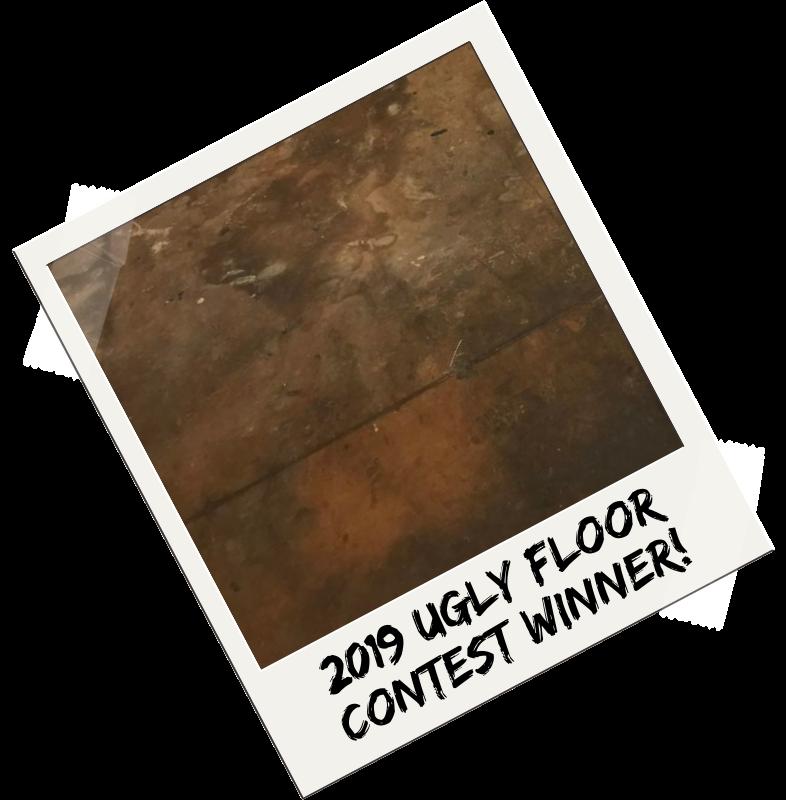 2019 Ugly Floor Contest Winner