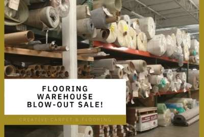 warehouse blow-out sale