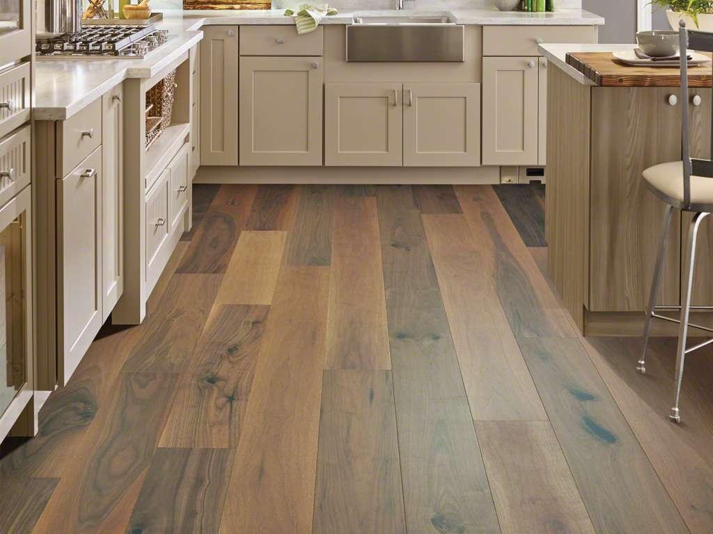 Flooring Type: Hardwood | Brand: Shaw | Style: Exquisite | Color: Regency Walnut