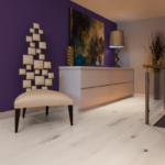 Brand: Mirage Hardwood Flooring | Style: Flair | Color: Snowdrift