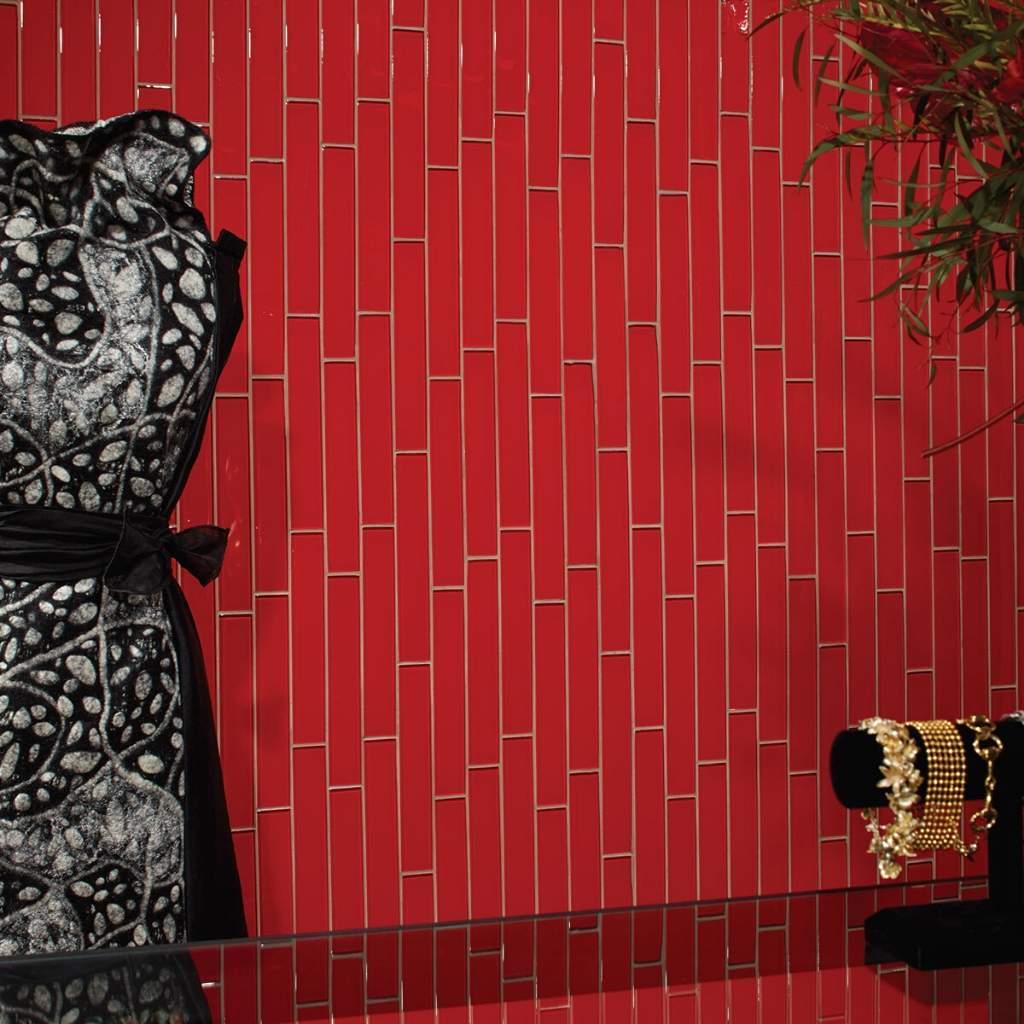 Brand: DalTile | Style: Color Wave | Color: Hot Red