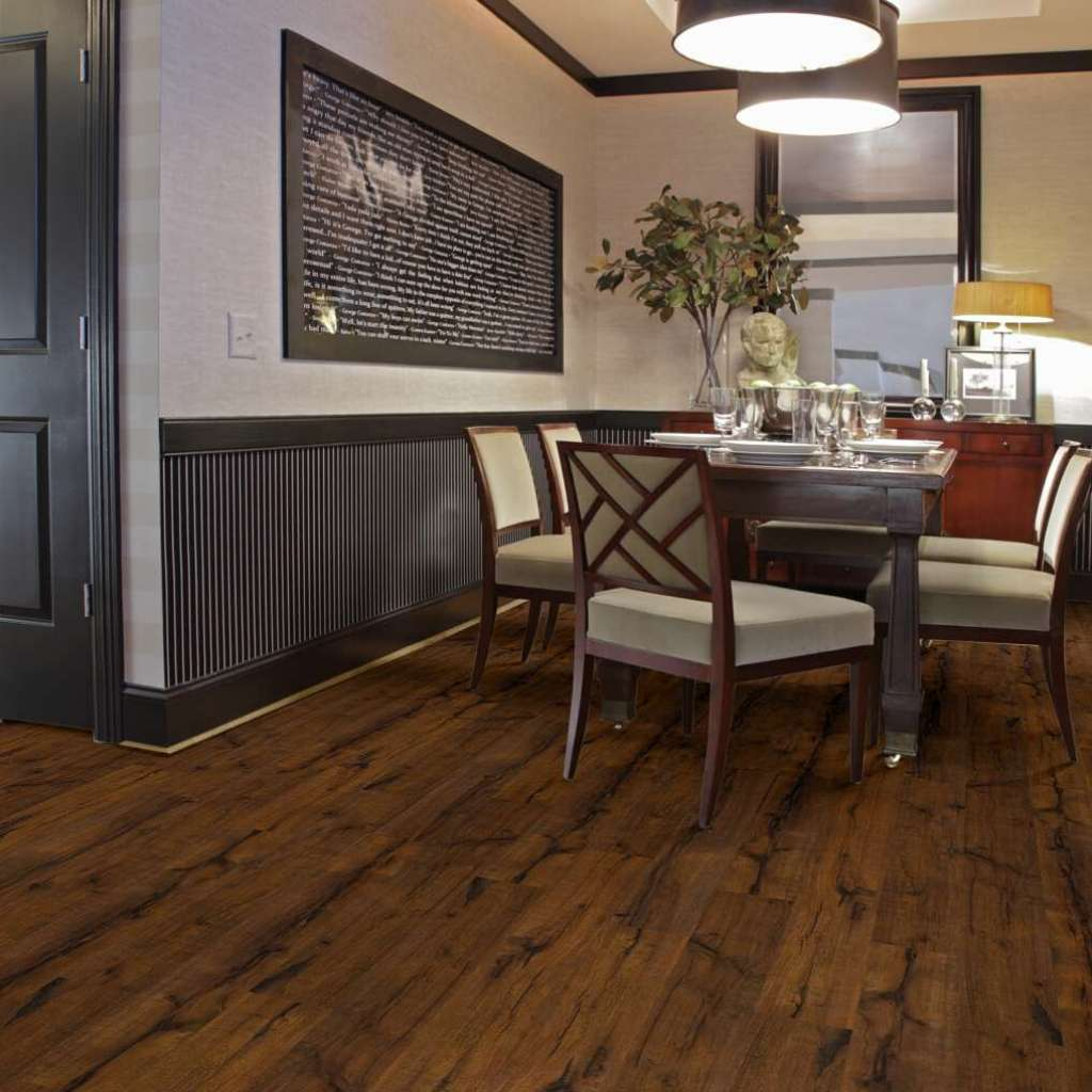 Brand: Shaw | Style: Landmark Laminate | Color: Sawmill Hickory