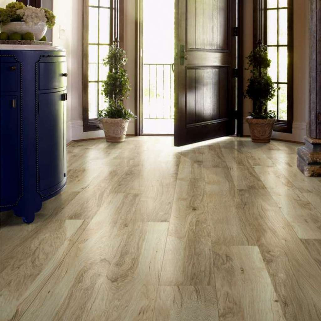 Brand: Shaw | Style: Mt. Everest Laminate | Color: Classic Hickory