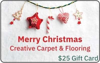 Creative Carpet Christmas Gift Card