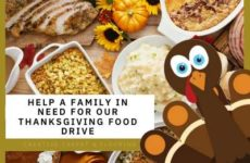 Help a family in need for our Thanksgiving Food Drive