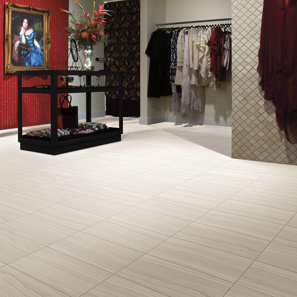 Brand: DalTile | Style: Santino | Color: Bianco Puro