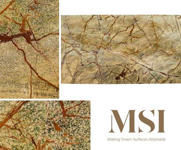 M S International Inc - Rain Forest Marble in Green