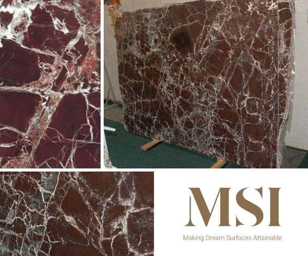 M S International Inc - Rosso Levanto Marble in Red