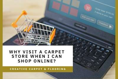 Thumbnail - Why visit a carpet store when I can shop online