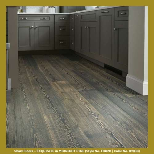 Shaw Floors – EXQUISITE in MIDNIGHT PINE (Style No. FH820 | Color No. 09038)