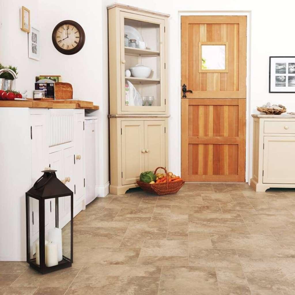 Brand: Karndean | Style: Limestone Tiles | Color: Gersey Limestone