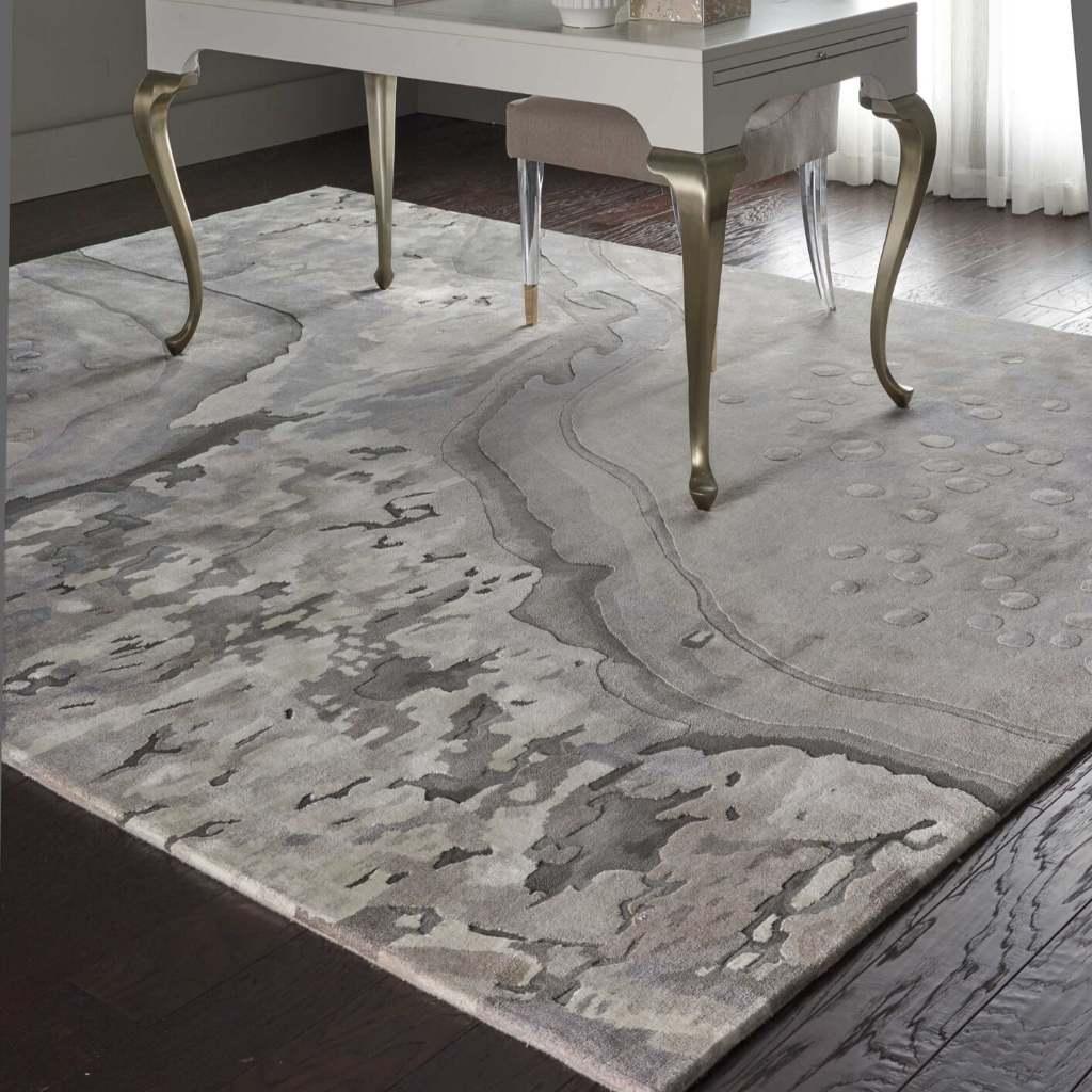 Brand: Nourison | Style: Prismatic PRS05 | Color: Silver Cloud