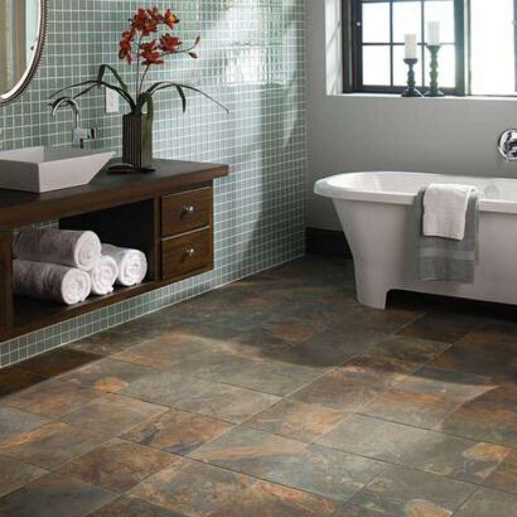 Brand: American Olean | Style: Kendal Slate™ GLAZED PORCELAIN | Color: Carlisle Black