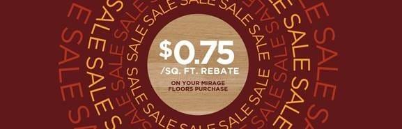 Mirage Fall Sale