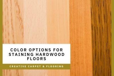 Thumbnail - staining hardwood floors