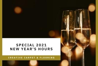 Thumbnail - Special New Year's Hours 2021