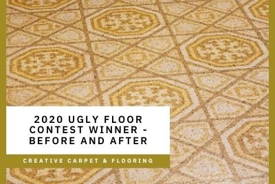 Thumbnail - 2020 Ugly Floor Contest Winner - Before and After