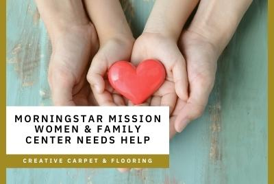 Thumbnail - MorningStar Mission Women & Family Center Needs Help