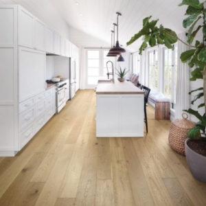 Shaw long-lasting hardwood flooring