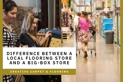 Thumbnail - Difference between a local flooring store and a big-box store